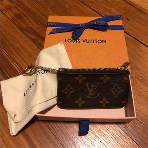 Lv cles key pouch